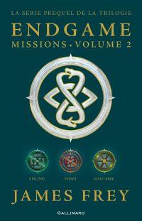 Image de couverture (Endgame : Missions (volume 2). Aisling, Shari, Maccabee)