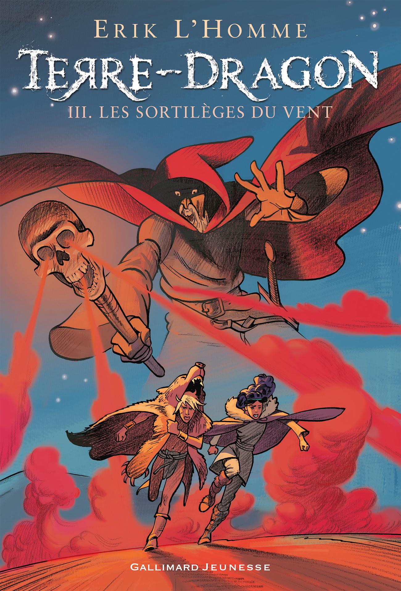 Terre-Dragon (Tome 3) - Les sortilèges du vent  