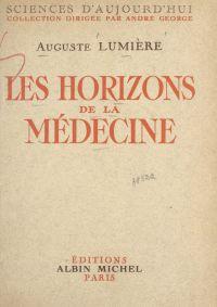 Les horizons de la médecine