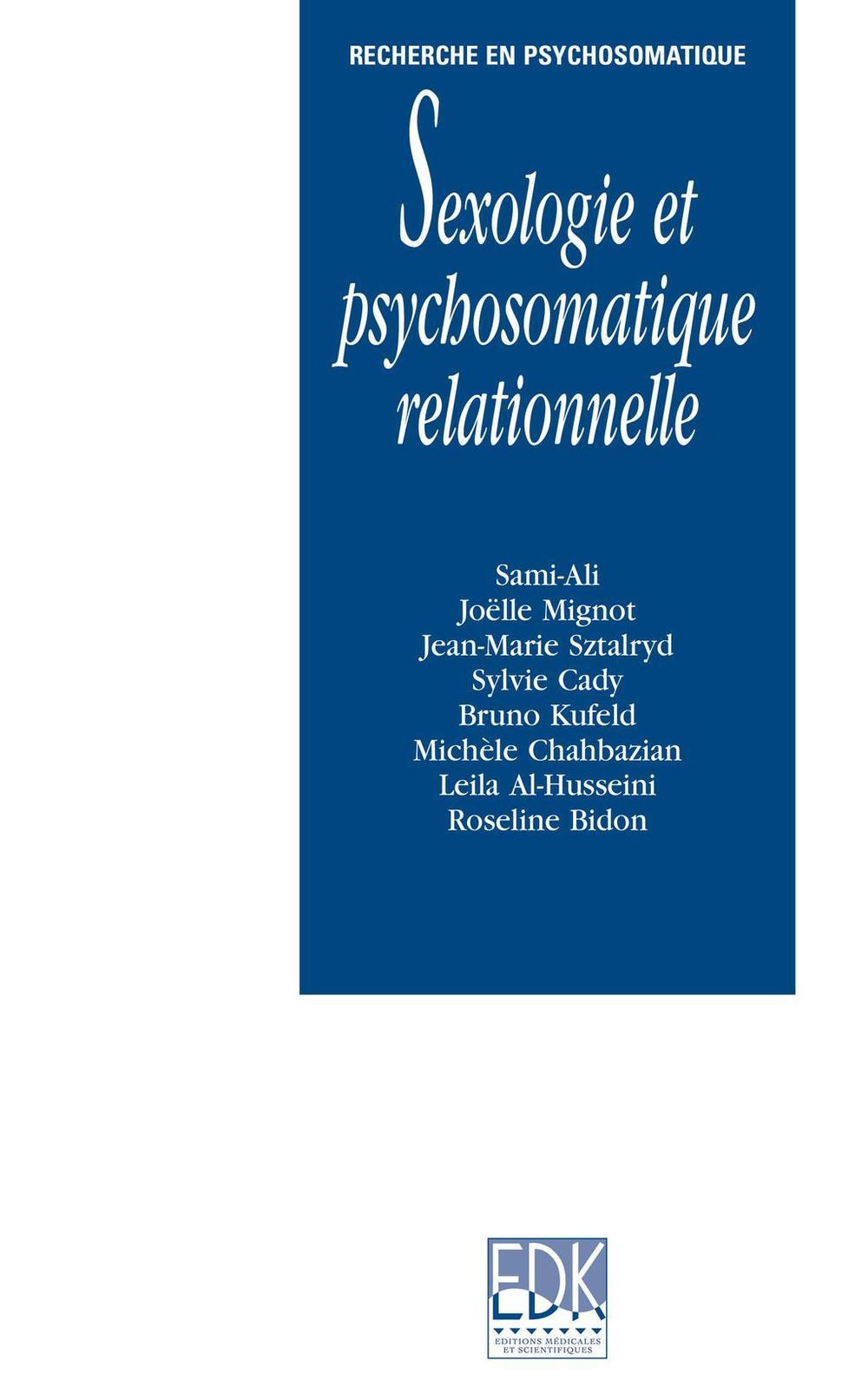 Sexologie et psychosomatique relationnelle