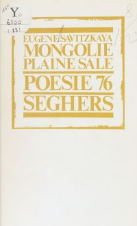 Mongolie, plaine sale