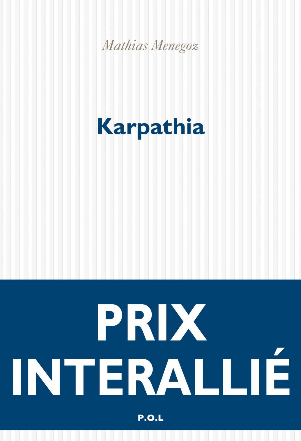 Karpathia | Menegoz, Mathias. Auteur