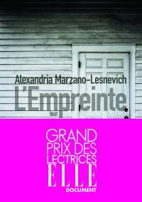 L'Empreinte | MARZANO-LESNEVICH, Alexandria. Auteur