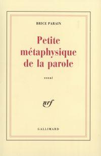 Petite métaphysique de la p...