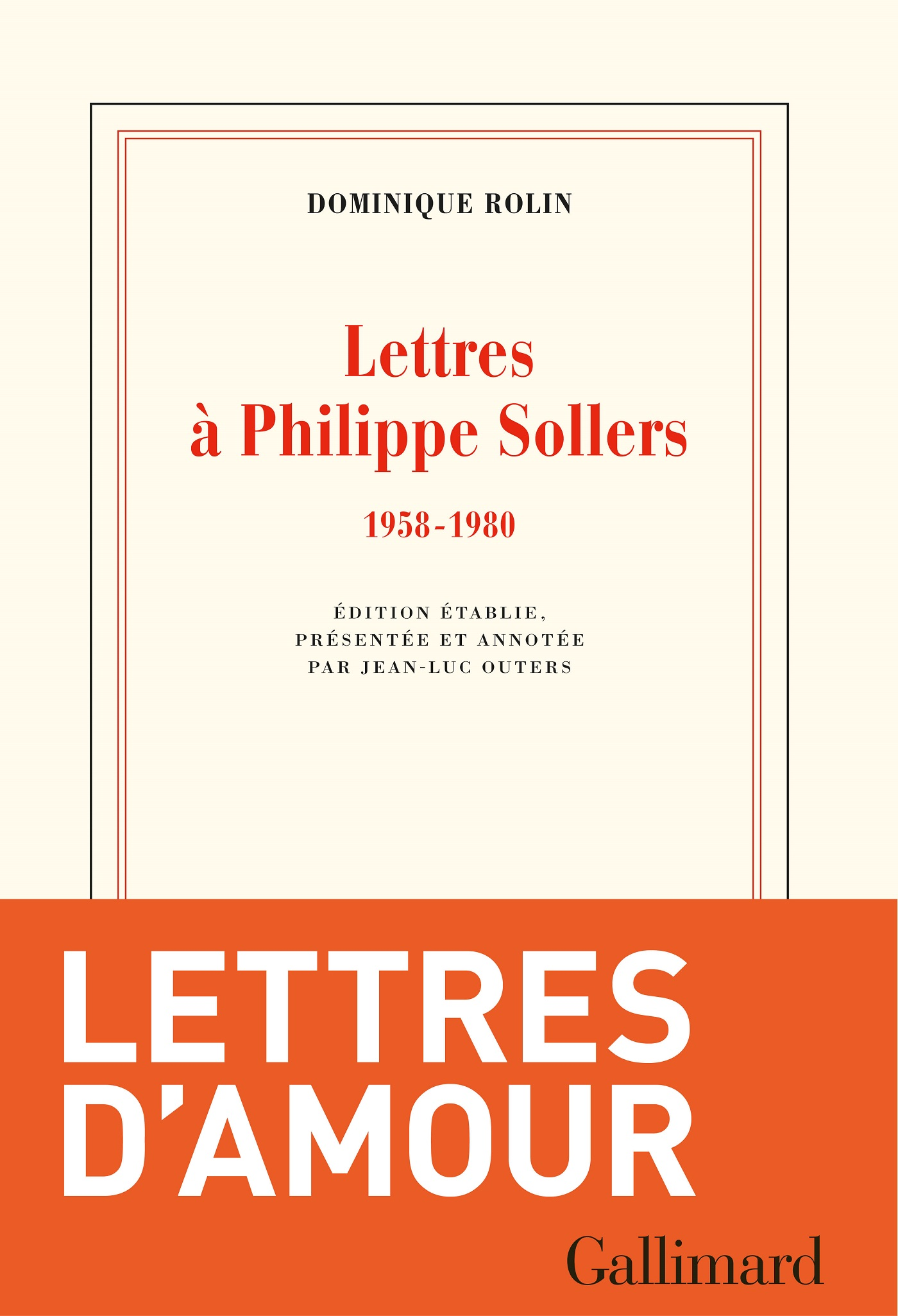 Lettres à Philippe Sollers ...