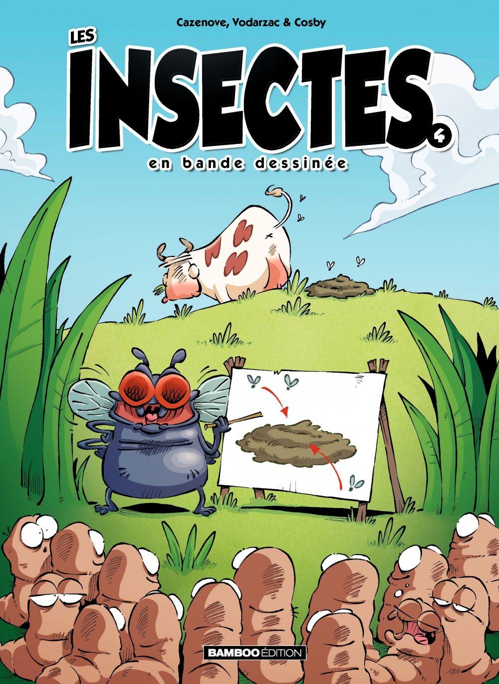 Les Insectes en BD | François Vodarzac, . Auteur