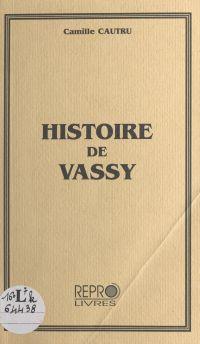 Histoire de Vassy