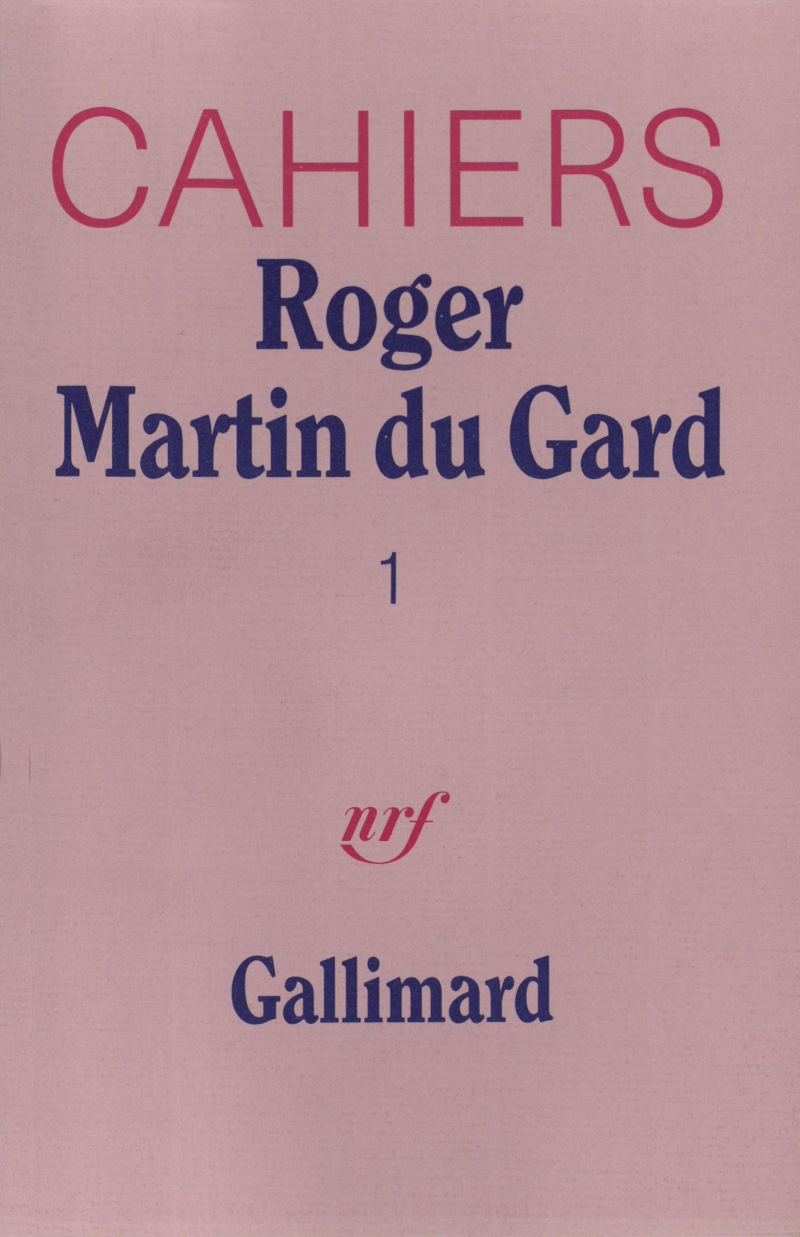 Cahiers Roger Martin du Gard