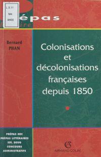 Colonisations et décolonisa...