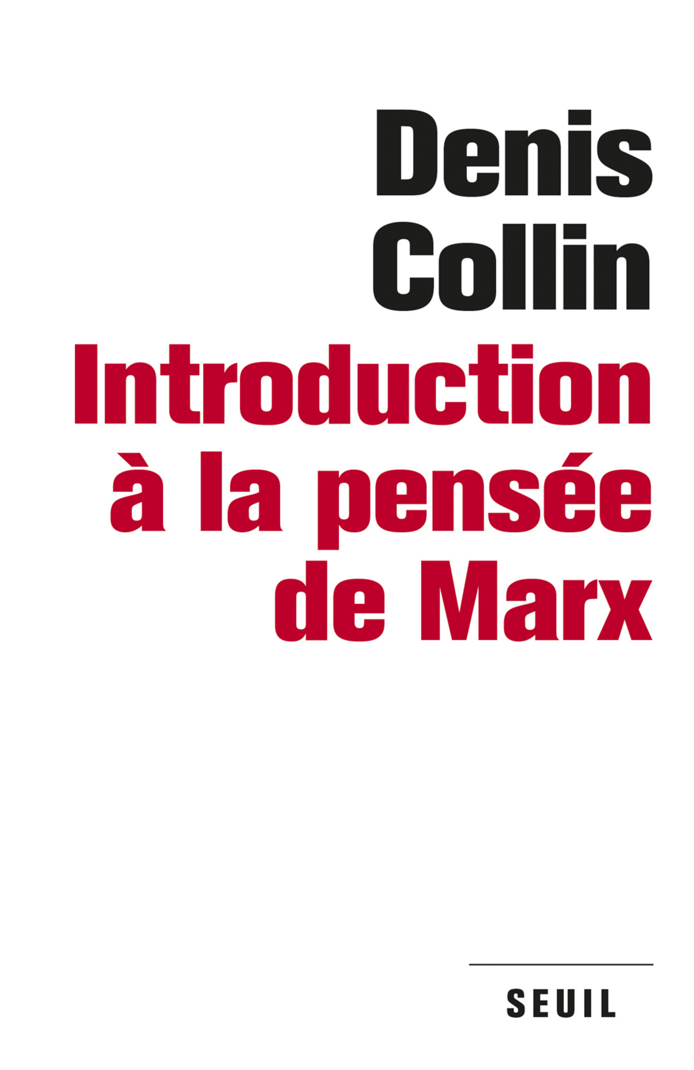 Introduction à la pensée de Marx