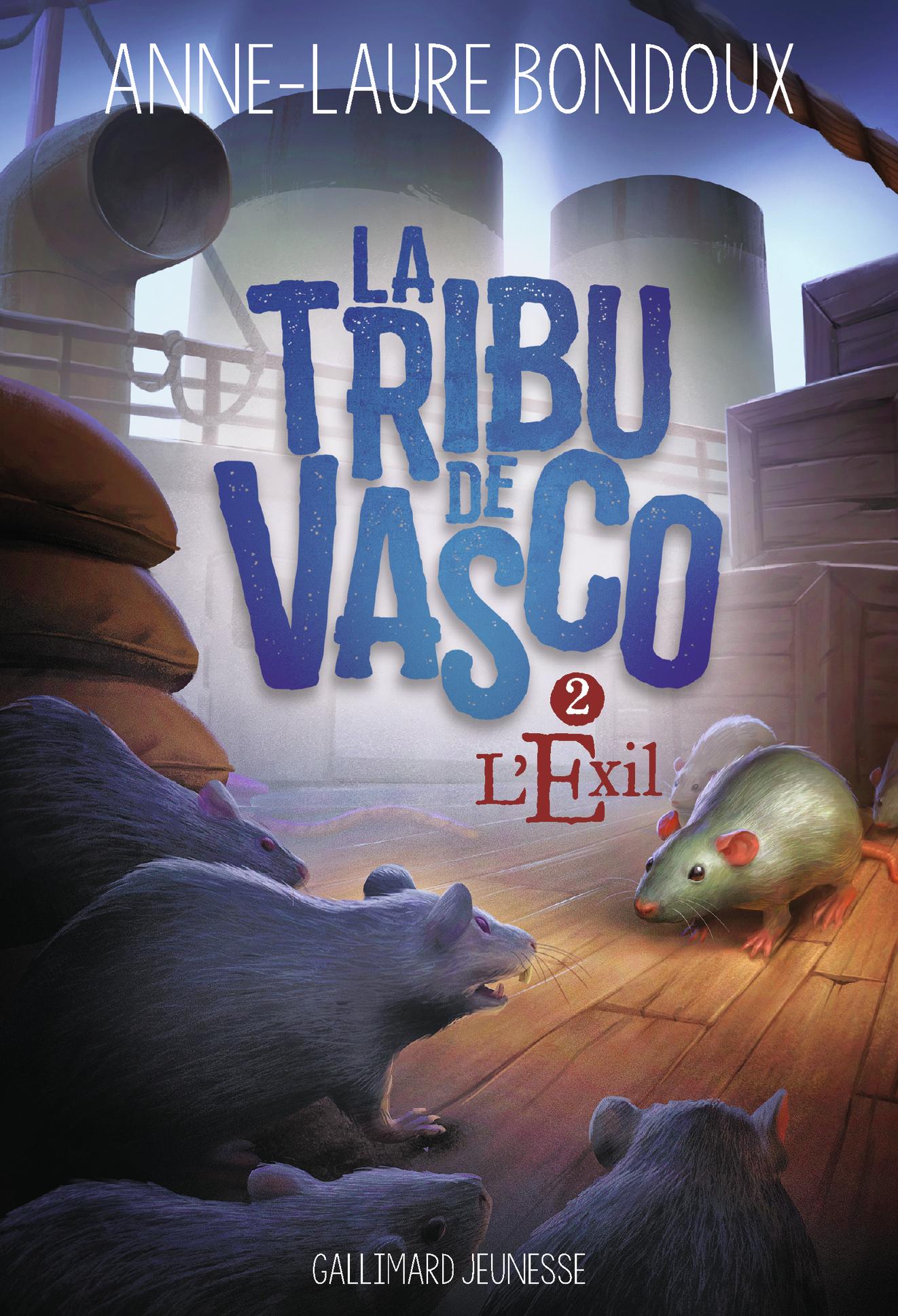 La Tribu de Vasco (Tome 2) - L'Exil | Bondoux, Anne-Laure