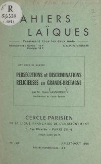 Persécutions et discriminat...