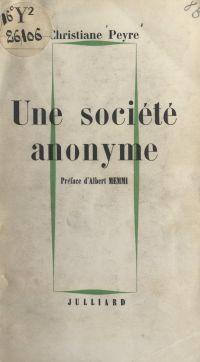 Une société anonyme
