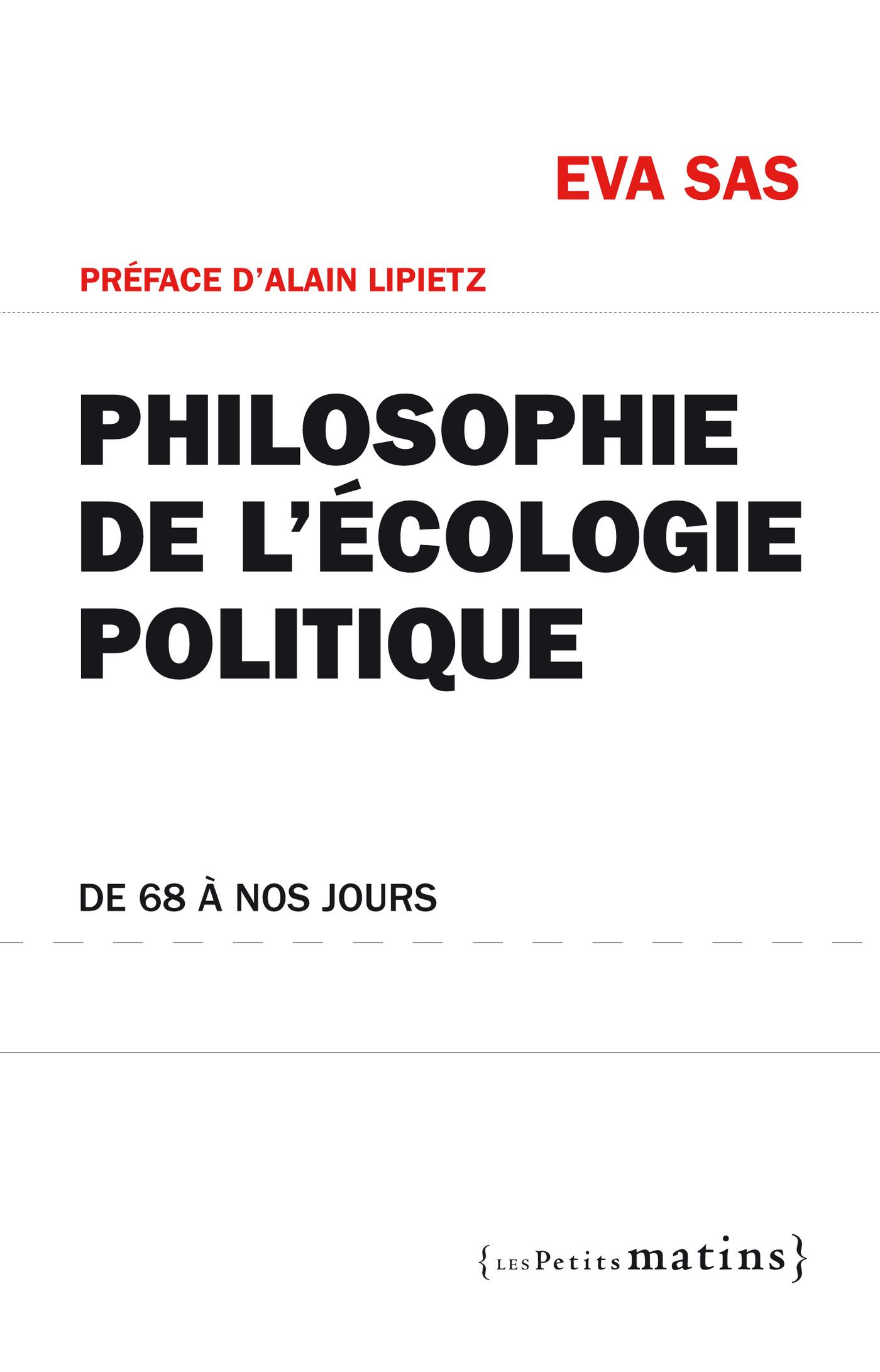 Philosophie de l'écologie p...
