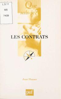 Les contrats