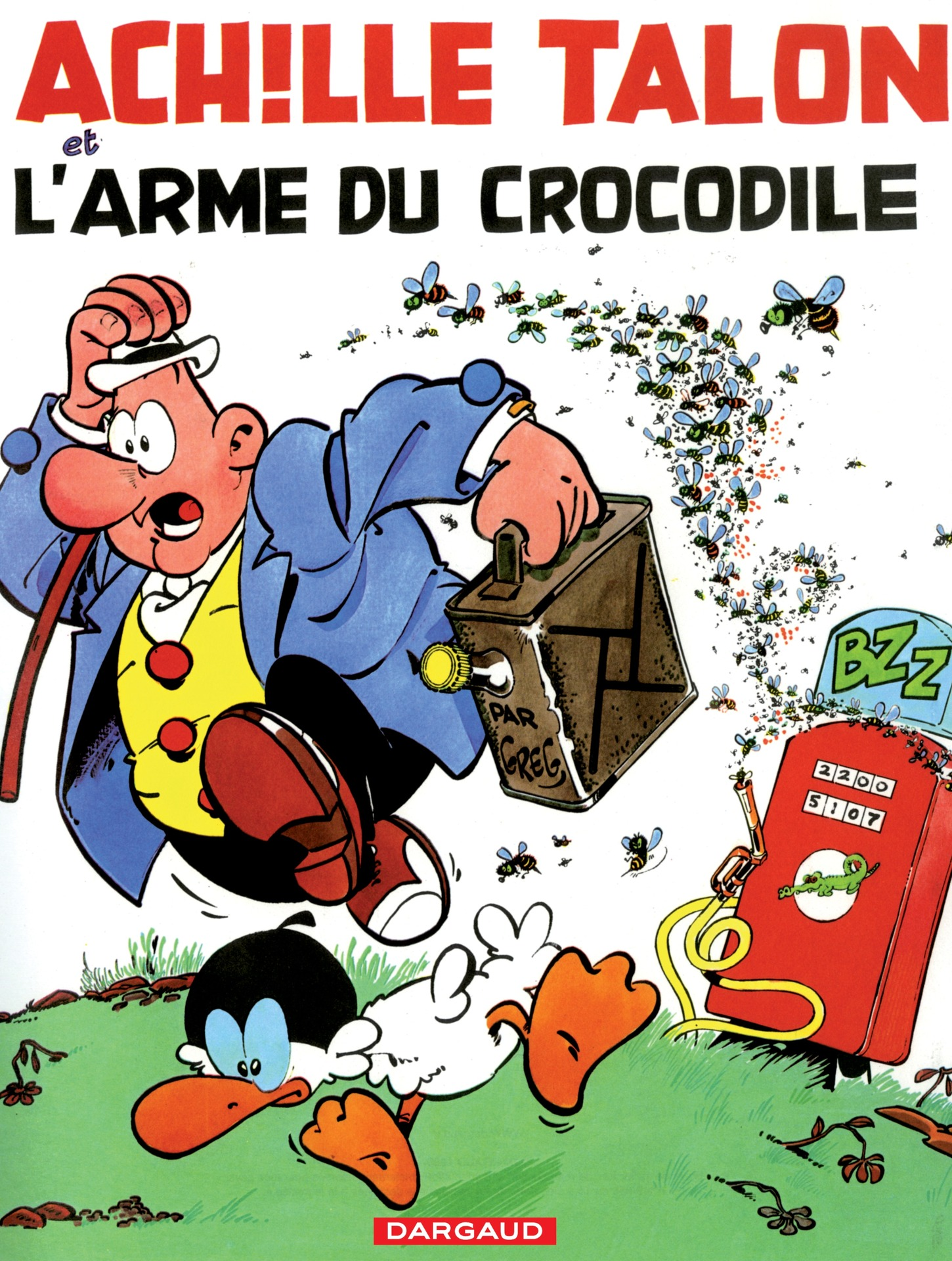 Achille Talon - Tome 26 - Achille Talon et l'arme du crocodile