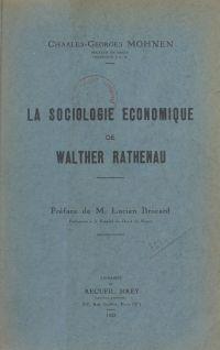 La sociologie économique de...