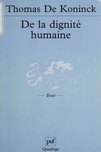 De la dignité humaine