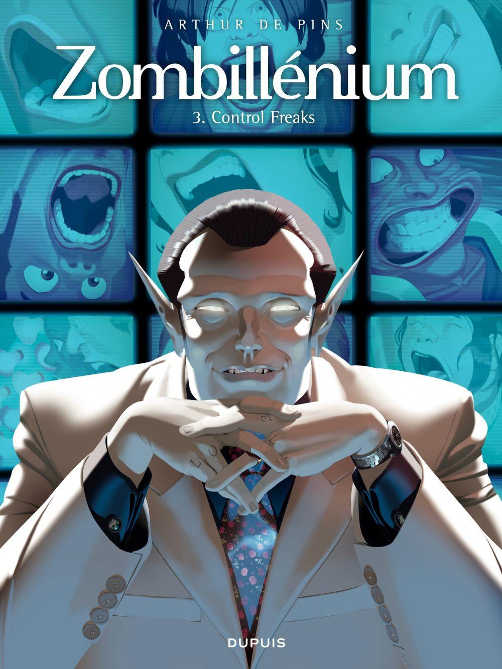 Zombillénium - Tome 3 - Control Freaks | De Pins, Arthur. Auteur