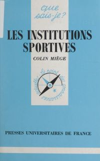 Les institutions sportives