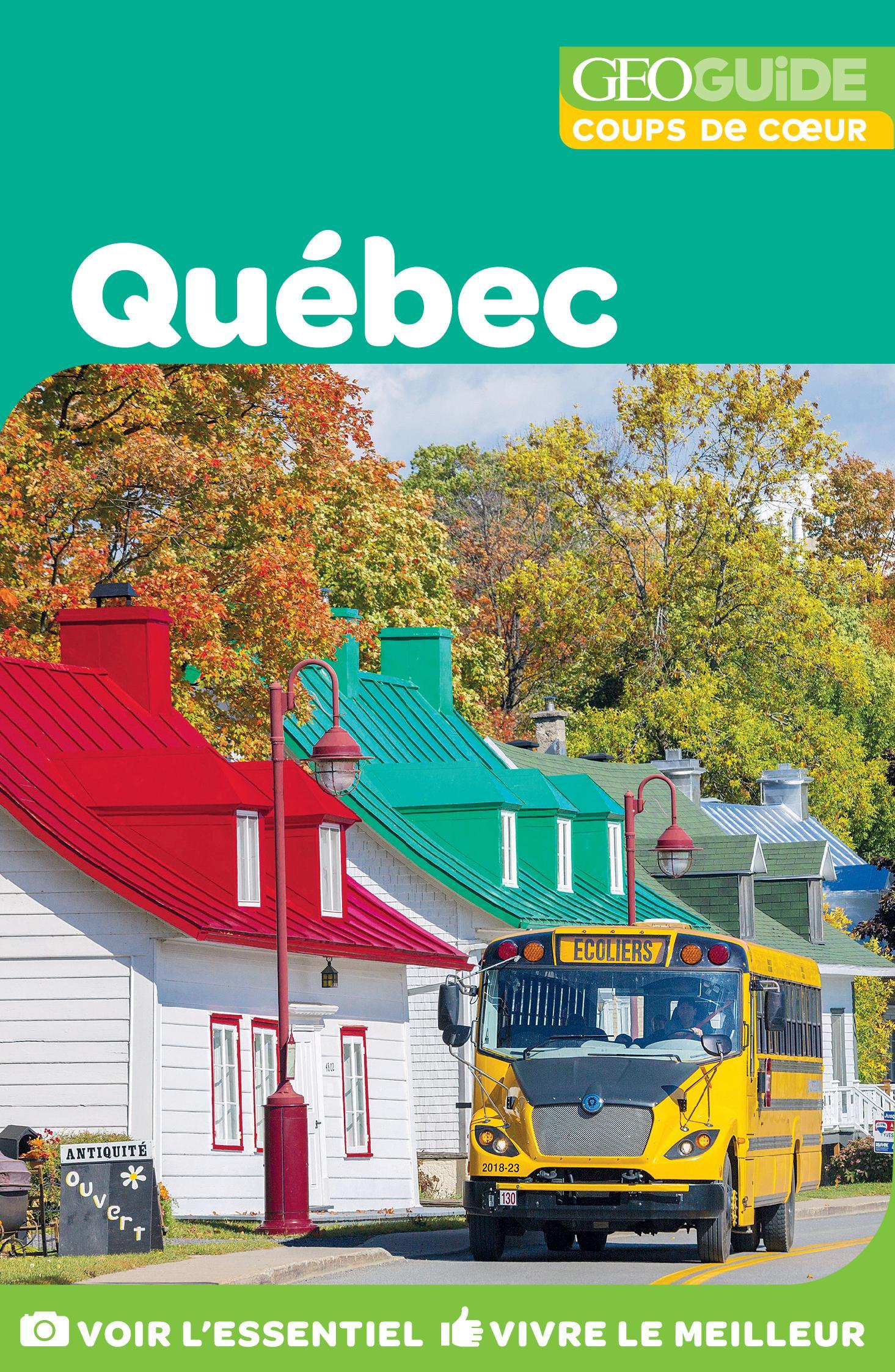 GEOguide Coups de coeur Québec