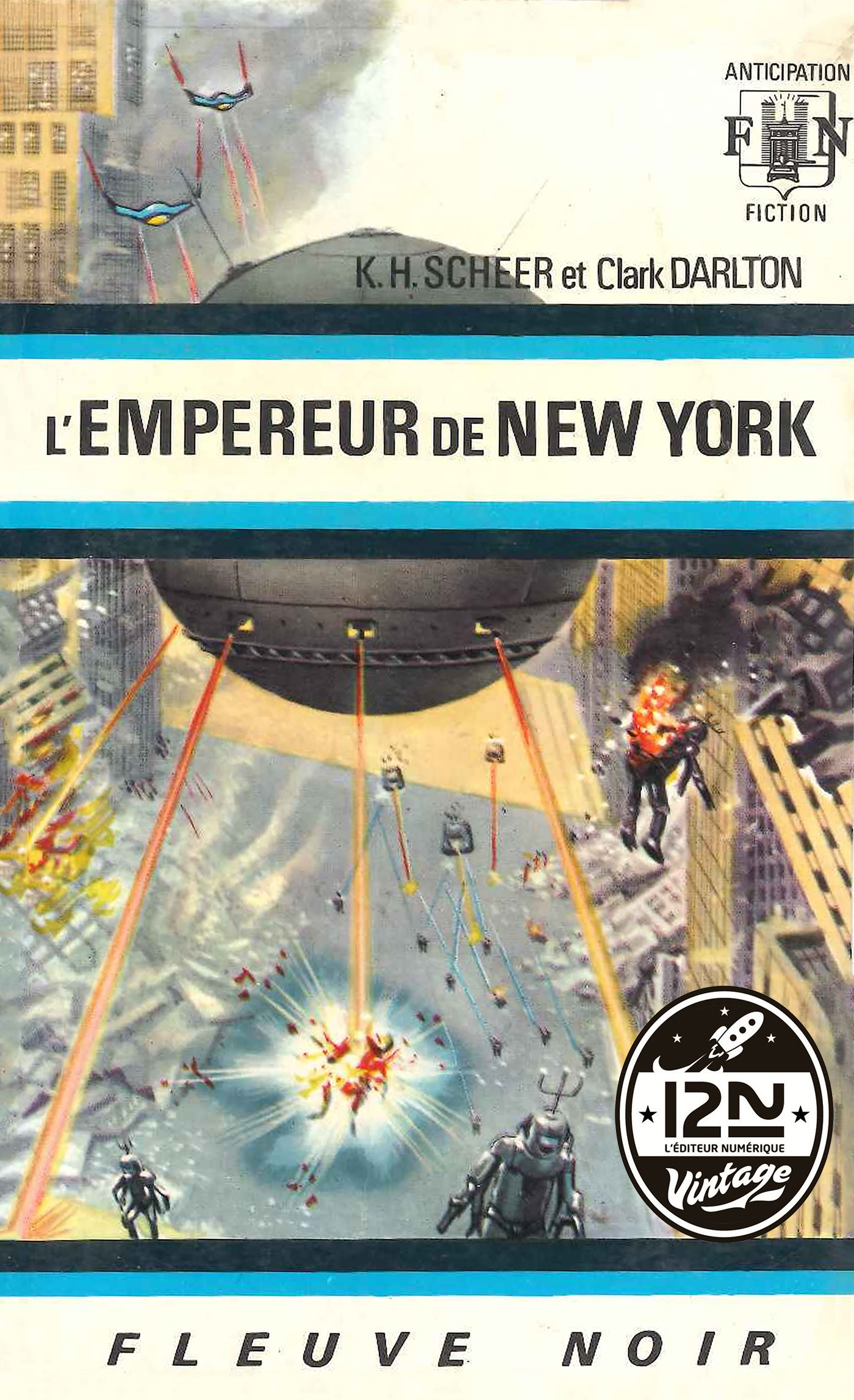 Perry Rhodan n°12 - L'empereur de New York