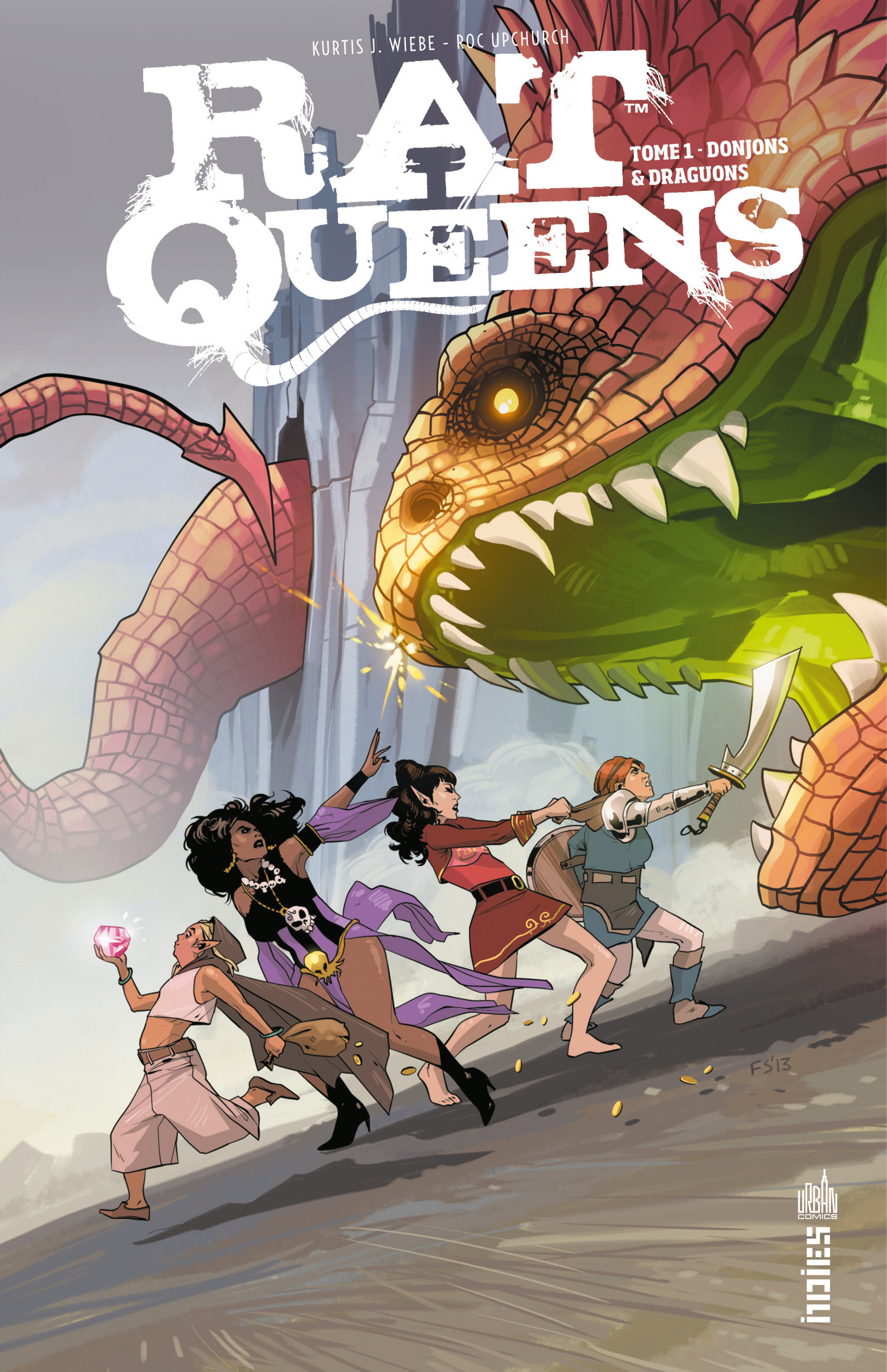 Rat Queens - Tome 1