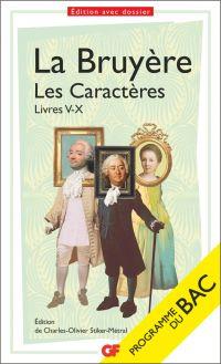 Les Caractères, Livres V-X ...
