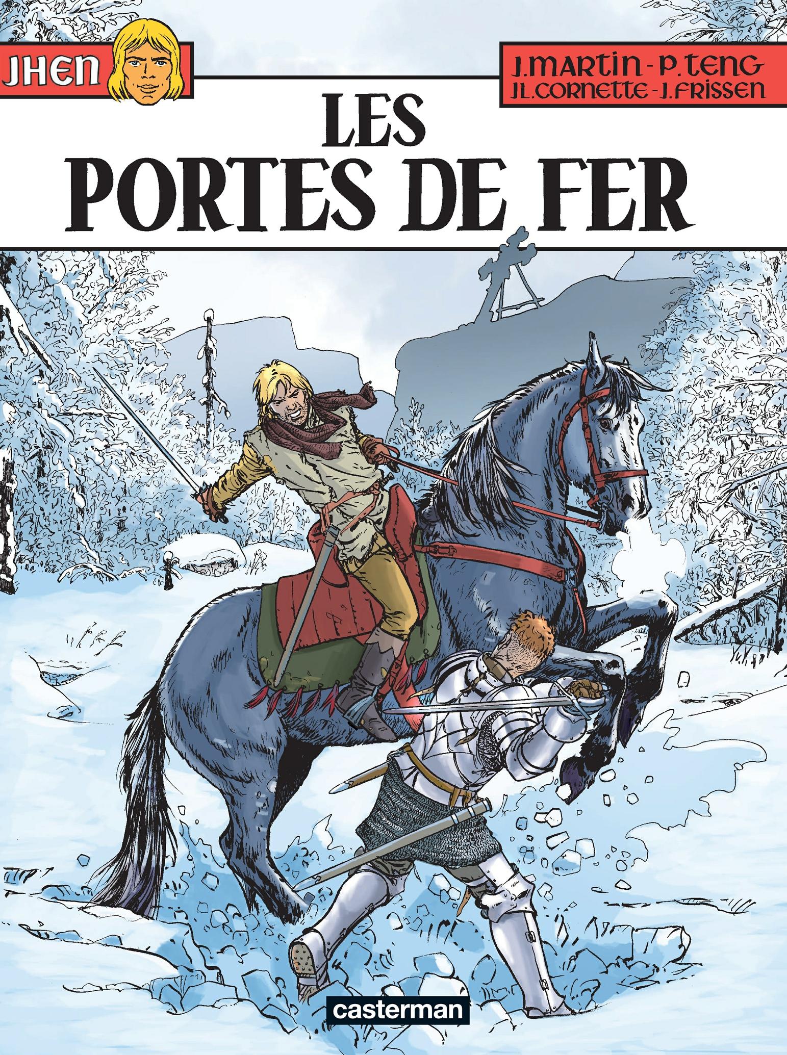 Jhen (Tome 15) - Les Portes de Fer | Martin, Jacques