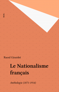 Le Nationalisme français