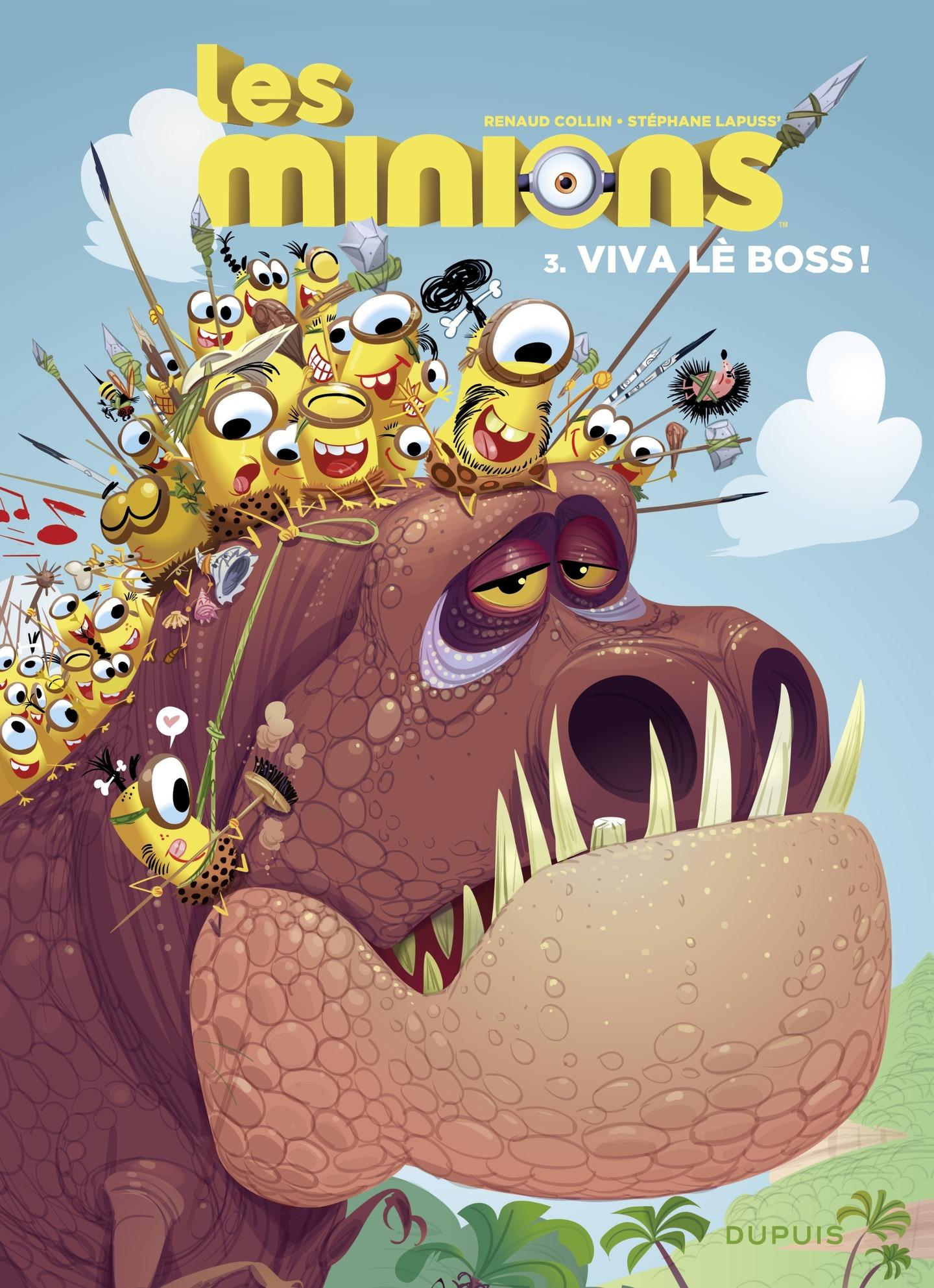 Les Minions - tome 3 - Viva...