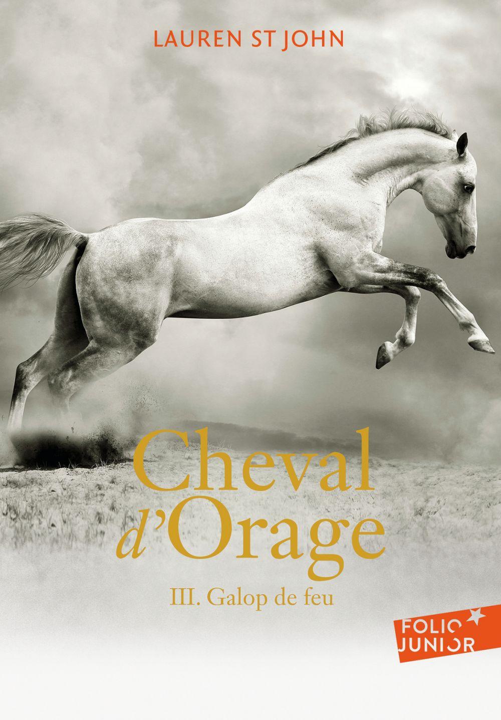 Cheval d'Orage (Tome 3) - Galop de feu | St John, Lauren. Auteur