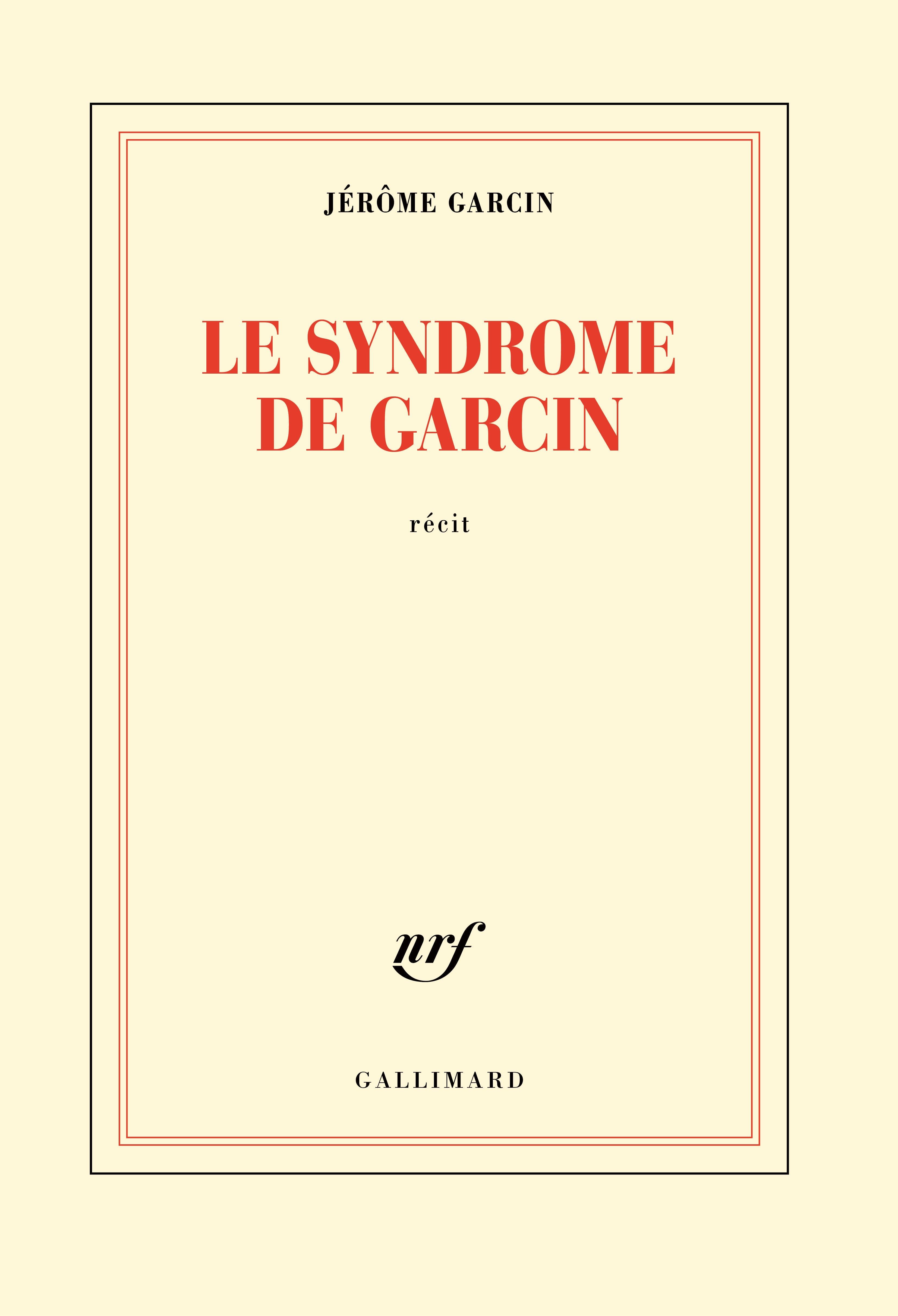 Le syndrome de Garcin | Garcin, Jérôme