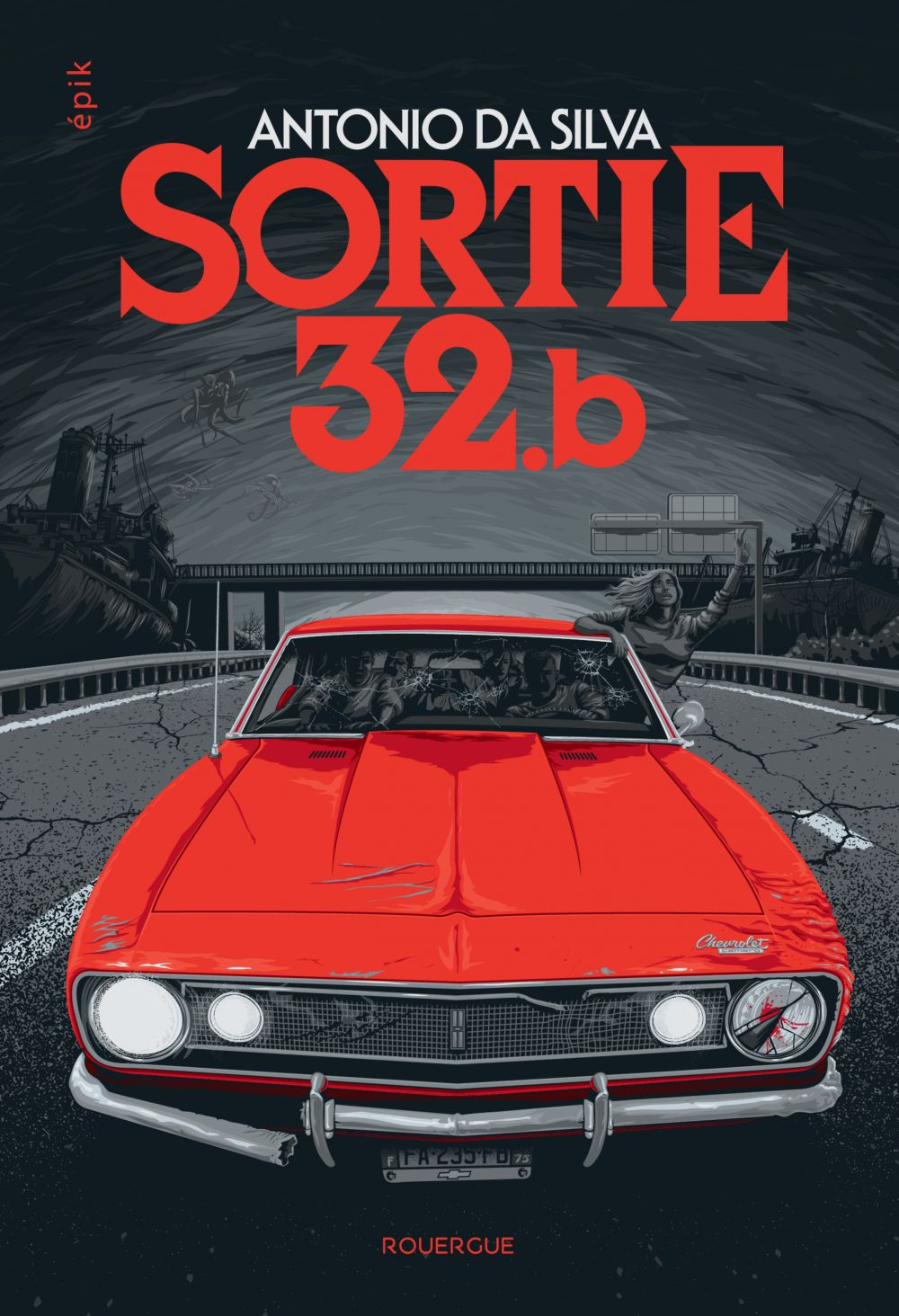 Sortie 32.b | Da Silva, Antonio (1967-....). Auteur