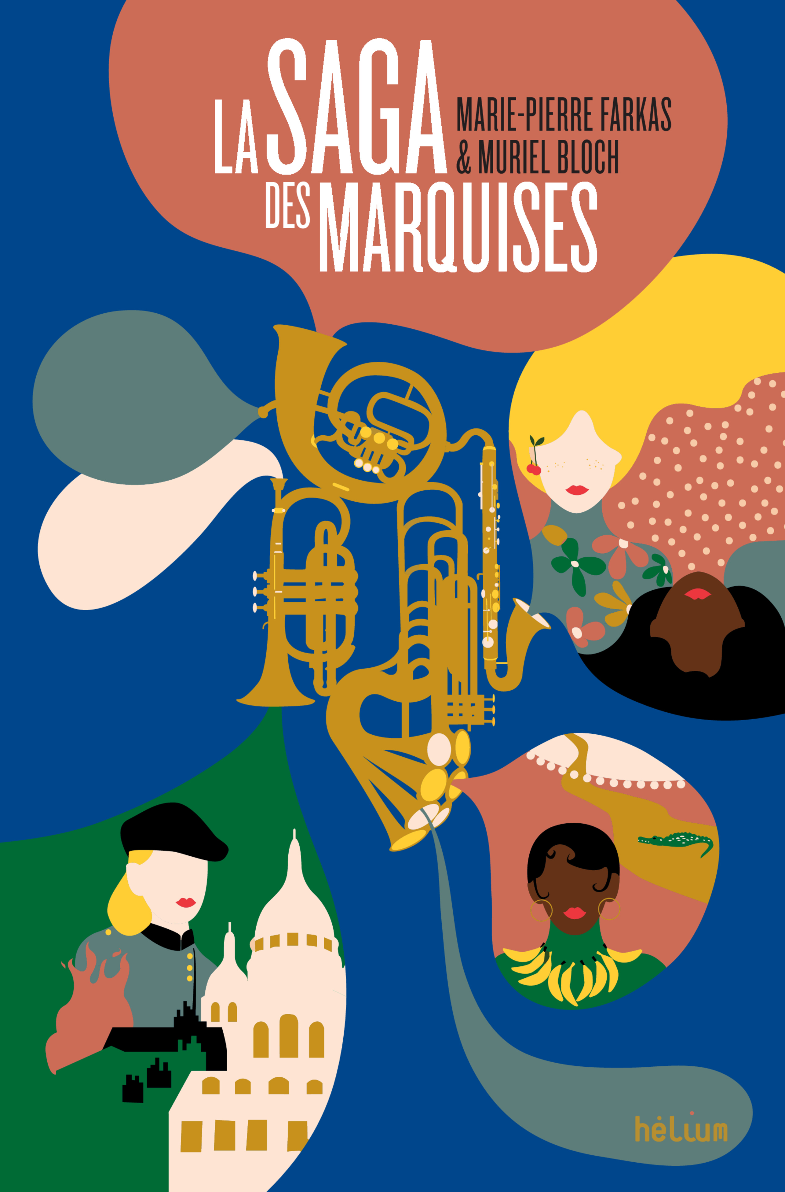 La Saga des Marquises   Bloch, Muriel