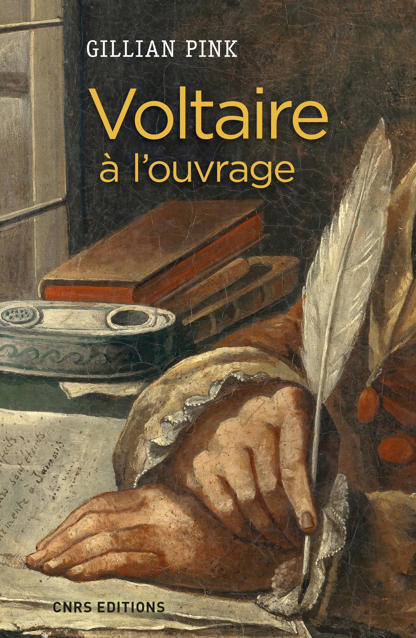 Voltaire à l'ouvrage