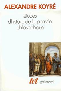Études d'histoire de la pensée philosophique