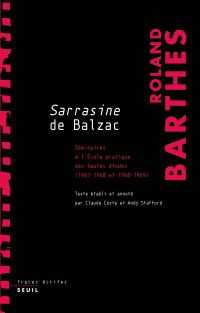 Sarrasine de Balzac. Sémina...