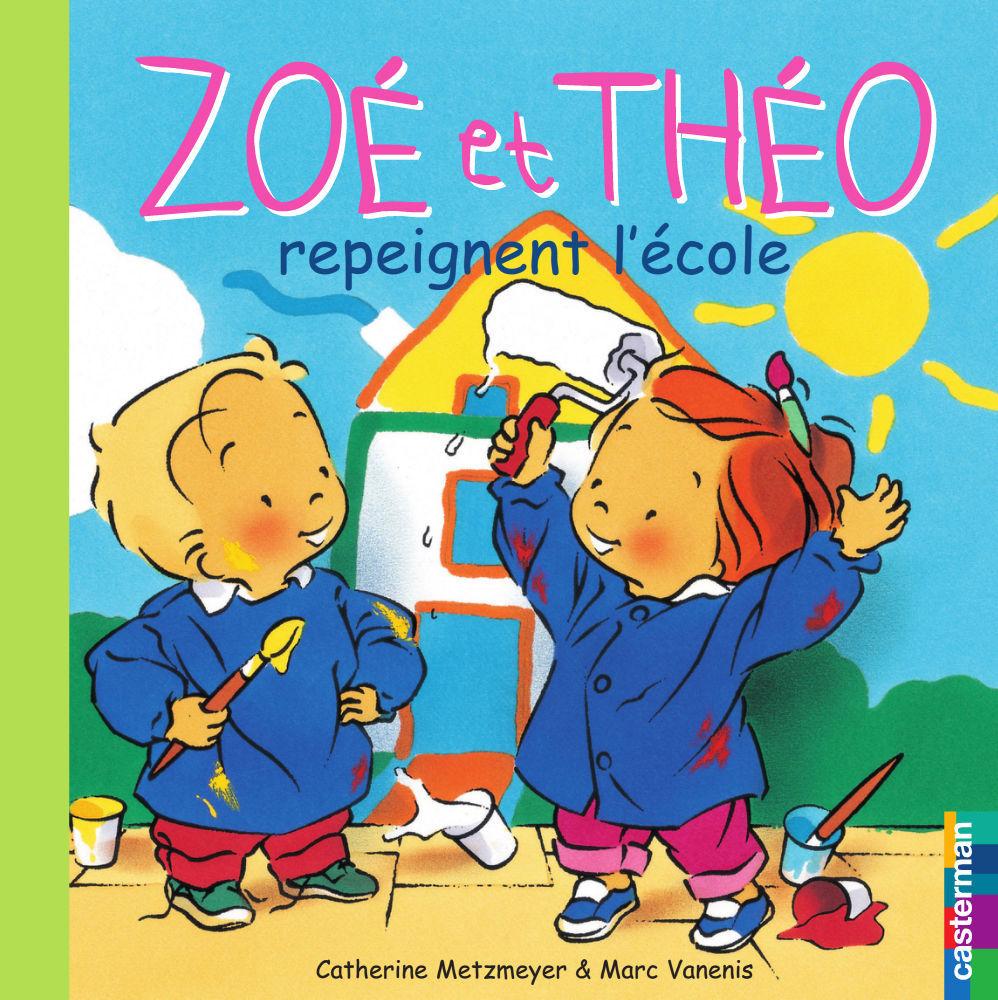 Zoé et Théo repeignent l'école (T24)
