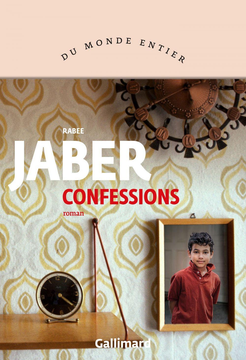 Confessions | Jaber, Rabee (1972-....). Auteur
