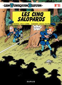 Les Tuniques bleues. Volume 21, Les cinq salopards