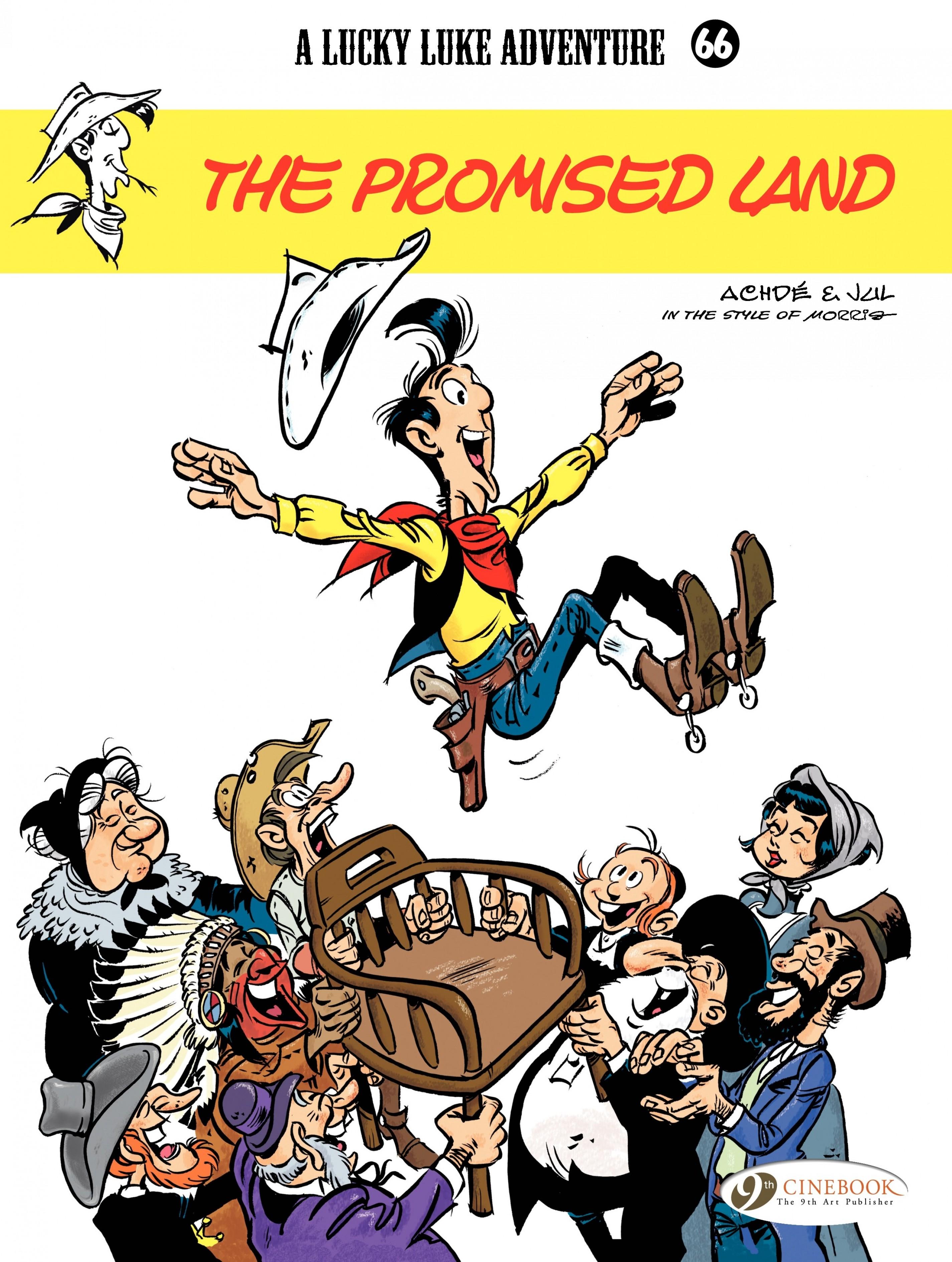 Vignette du livre Lucky Luke (english version) - Tome 66 - The Promised Land