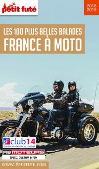 Image de couverture (FRANCE À MOTO 2018/2019 Petit Futé)