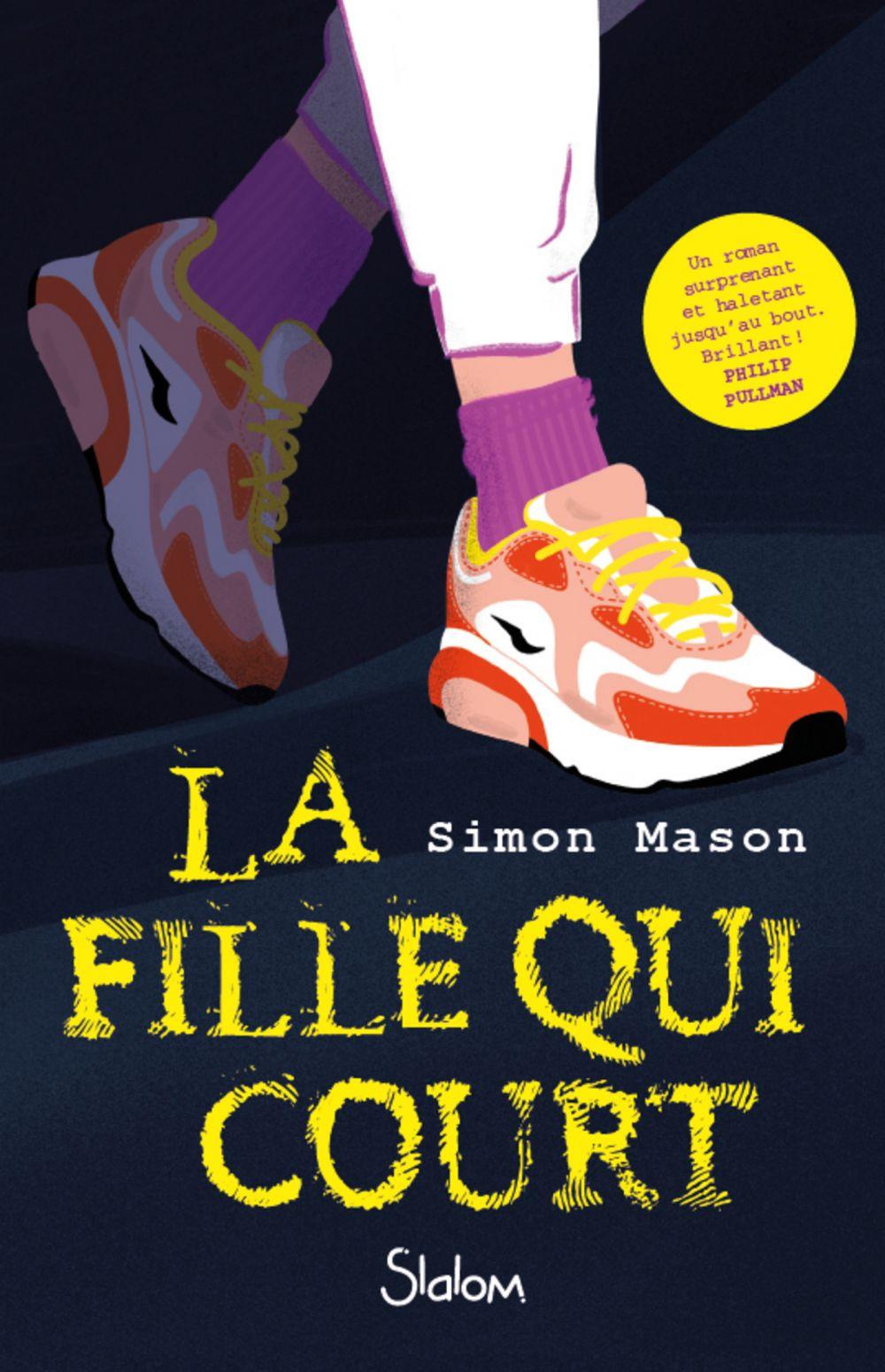 La Fille qui court - Lecture roman ado thriller - Dès 13 ans | MASON, Simon. Auteur