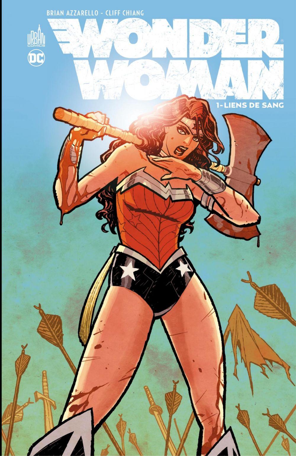 Wonder Woman - Liens de sang | Azzarello, Brian (1962-....). Auteur