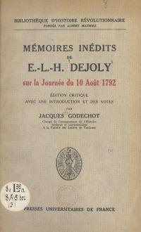 Mémoires inédits de E.-L.-H...