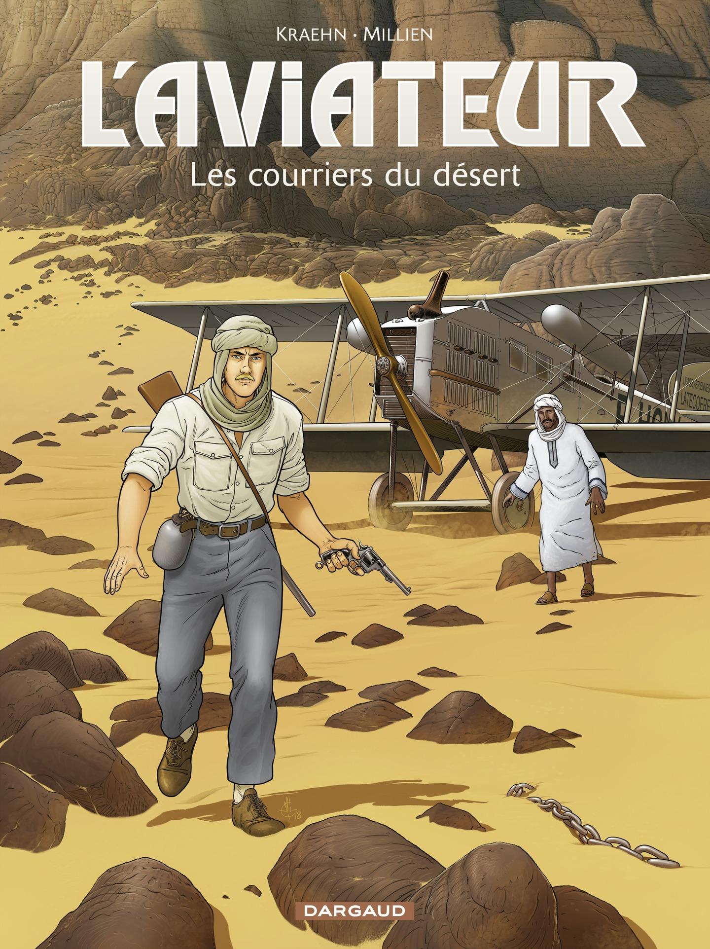 L'Aviateur - tome 3 - Les c...
