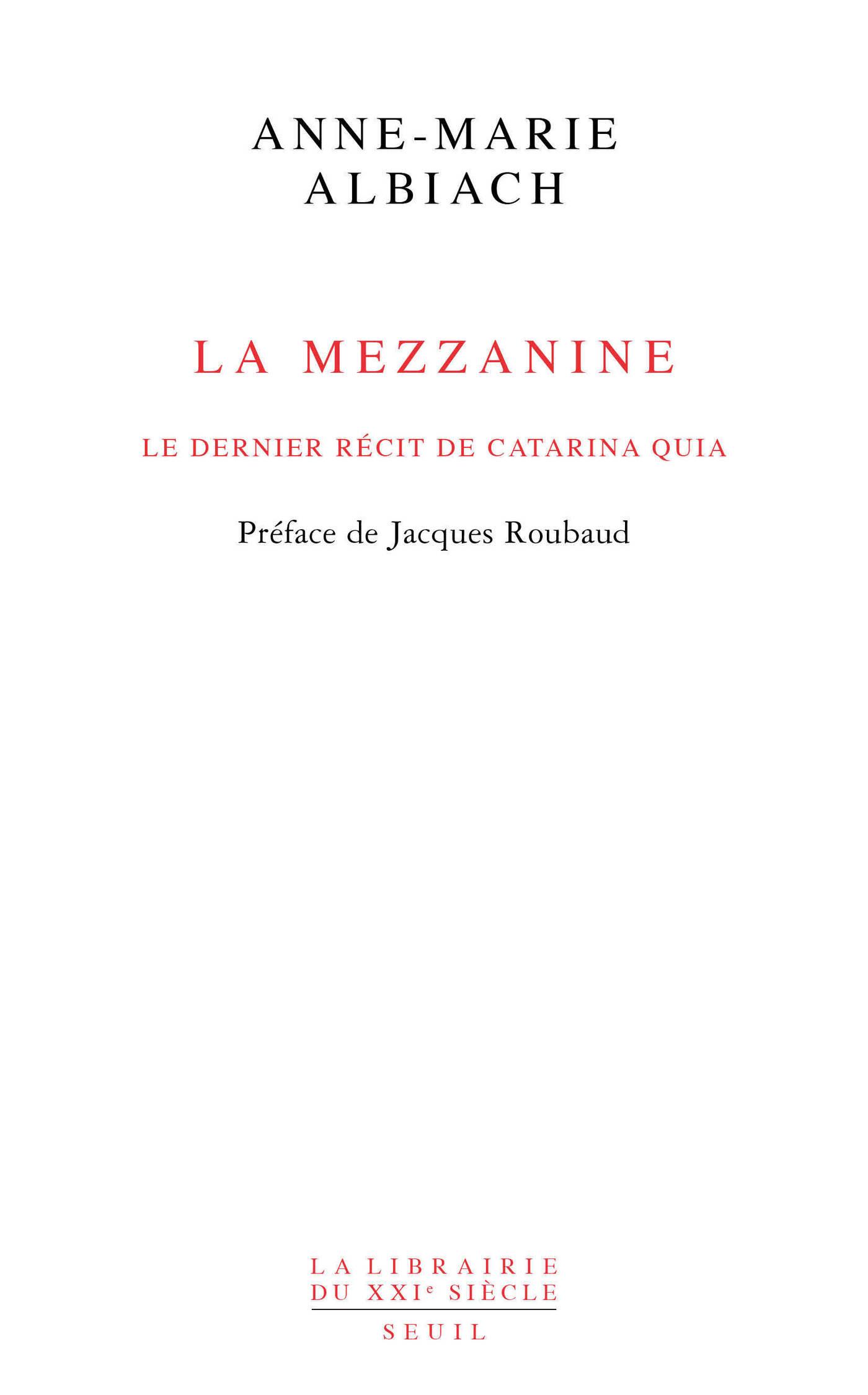 La Mezzanine, le dernier ré...