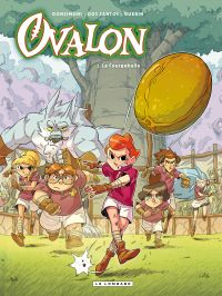 Ovalon - Tome 2 - La Courgebulle | Donsimoni, . Illustrateur