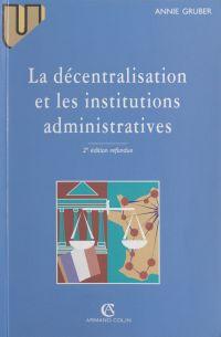 La décentralisation et les ...